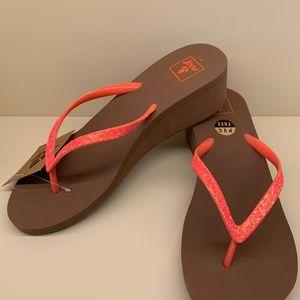 NWT Reef Krystal Star Womens Sandals